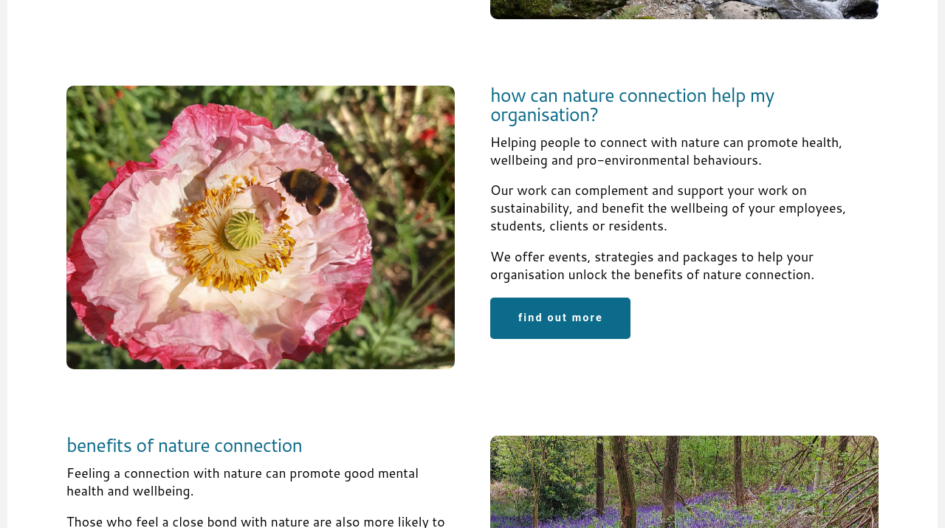 Company of Nature Website