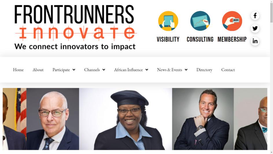 Frontrunners Innovate site for Mary Kurek
