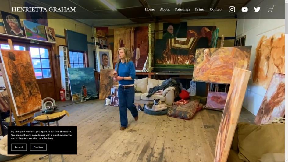 Henrietta Graham Website